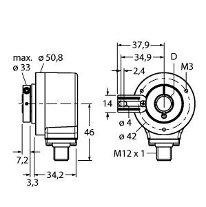 Turck RI-12H15T-2B5000-H1181
