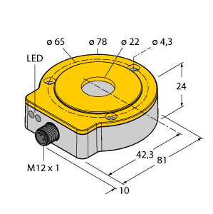 Turck RI360P0-QR24M0-INCRX2-H1181