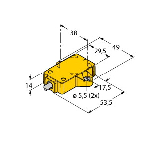 Turck RI360P1-QR14-ESG25X2