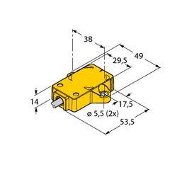 Turck RI360P1-QR14-ELIU5X2