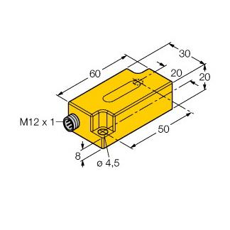 Turck B2N45H-Q20L60-2LI2-H1151/3GD
