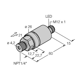 Turck PC001R-203-2UPN8X-H1141