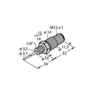 Turck TP-103A-G1/8-H1141-L024