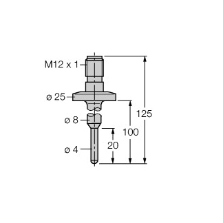 Turck TP-104A-TRI3/4-H1141-L100