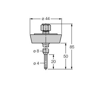 Turck THW-3-DN25K-A4-L050
