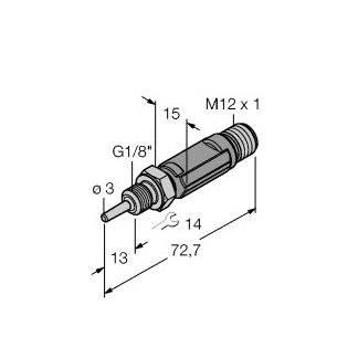 Turck TTM100C-103A-G1/8-LI6-H1140-L013
