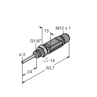 Turck TTM100C-103A-G1/8-LI6-H1140-L024