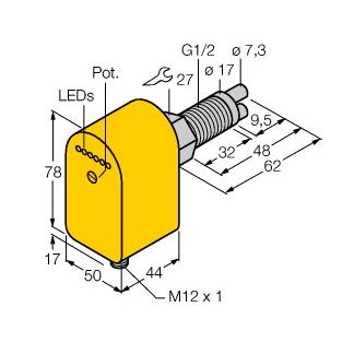 Turck FCS-GL1/2A2P-AP8X-H1141/A