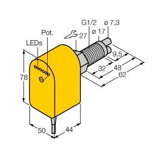 Turck FCS-GL1/2A2P-VRX/230VAC/A