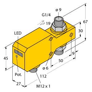 Turck FCI-D10A4P-LIX-H1141/A