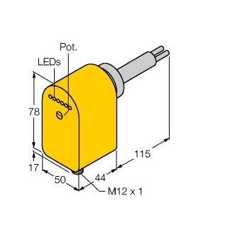 Turck FCS-HA2P-LIX-H1141/AL115