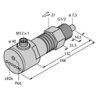 Turck FCS-GL1/2A4-AP8X-H1141/D090