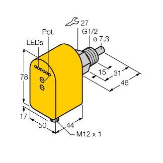 Turck FCS-G1/2A4P-LIX-H1141/D037