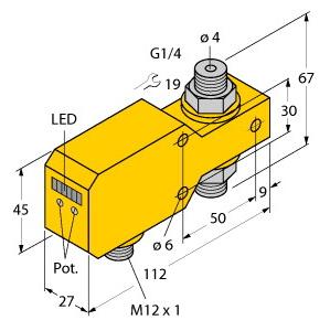 Turck FCI-D04A4P-LIX-H1141