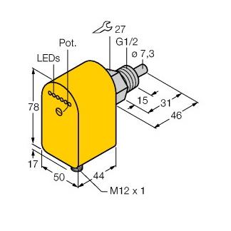 Turck FCS-G1/2A4P-AP8X-H1141