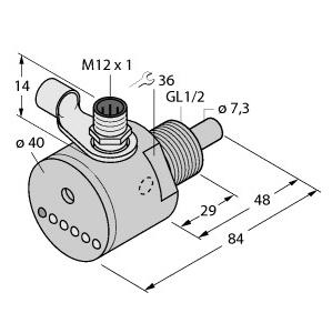 Turck FCS-GL1/2A4-AP8X-H1141/D023
