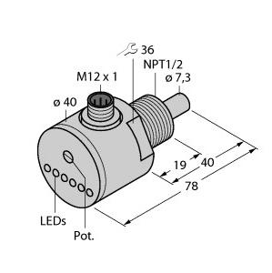 Turck FCS-N1/2A4-ARX-H1140