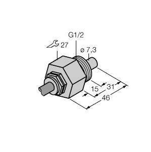 Turck FCS-G1/2A4-NAEX/D024 5M