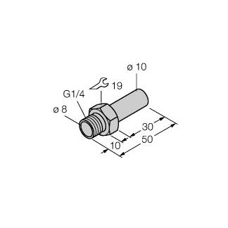Turck FTCI-G1/4A4-D10/L050