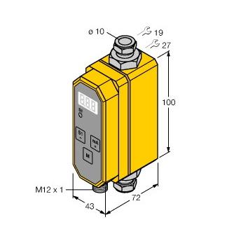 Turck FCMI-10D08DYA4P-LIUP8X-H1141