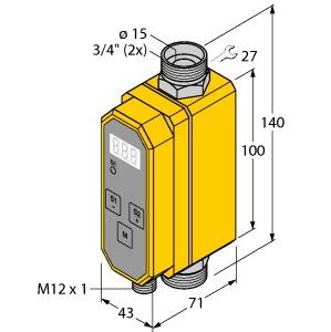 Turck FCMI-3/4D12DYA4P-LIUP8X-H1141