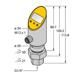 Turck PS100R-501-LI2UPN8X-H1141/3GD