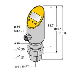 Turck PS025A-502-2UPN8X-H1141/3GD