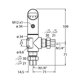 Turck PS025D-502L-LI2UPN8X-H1141