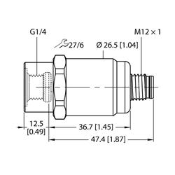 Turck PT1.6R-1001-I2-H1143
