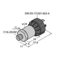 Turck PT200PSIG-1005-I2-DA91/X