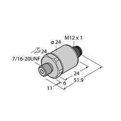 Turck PT500PSIG-1005-I2-H1143
