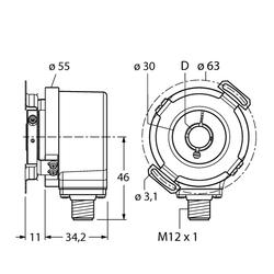 Turck REI-12H10E-2B1000-H1181