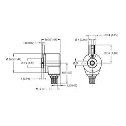 Turck REI-05IA0T-2H2500-H1181