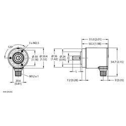 Turck REM-97S10C-8BAR-H1151