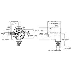 Turck REM-104H14T-3C13S12M-H1181