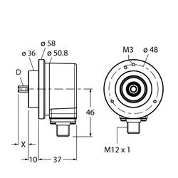 Turck REI-E-113T8C-2B2500-H1181