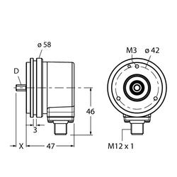 Turck REI-E-113T8S-2B2500-H1181
