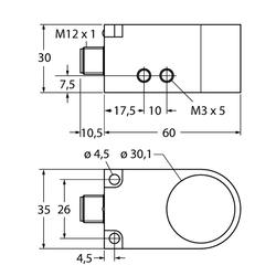Turck BI30R-W30-DAP6X-H1141/F2