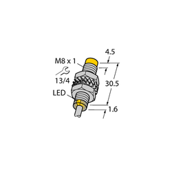 Turck NI3-M08-VN6X 7M