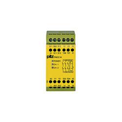 PILZ PNOZ X4 24VAC 3n/o 1n/c