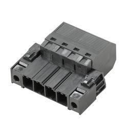 Weidmüller SVF 7.62HP/04/180F SN BK BX